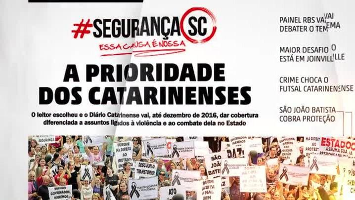 Campanha Segurança SC