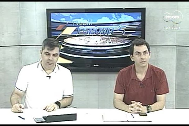 TVCOM Esportes. 4º Bloco. 01.09.16