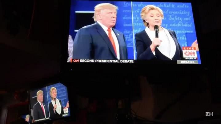 Pesquisas indicam vitória de Hillary no debate