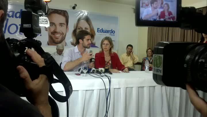 Eduardo Leite fala sobre o desafio como novo prefeito de Pelotas