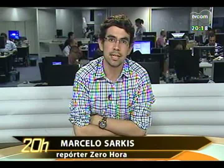TVCOM 20 Horas - 07/01/13 - Bloco 3 - Teste do sinal 3G nas praias do RS