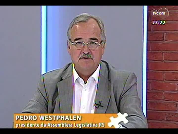 Mãos e Mentes - Presidente da Assembleia Legislativa, Pedro Westphalen - Bloco 3 - 03/02/2013