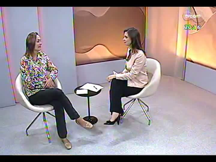 TVCOM 20 Horas - Especial comemorativo da Semana de Porto Alegre: entrevista com a presidente da Fundação Gaia, Lara Lutzenberger - Bloco 3 - 25/03/2013