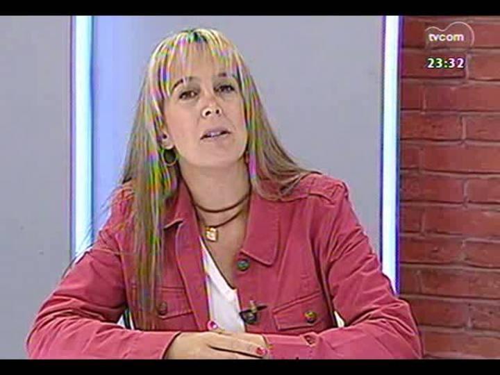 Mãos e Mentes - Pós-graduada em psicopedagogia clínica e institucional, a artista plástica Cláudia Zirbes - Bloco 1 - 24/05/2013