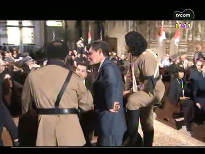 Programa do Roger - Confira os bastidores do filme \'Os senhores da guerra - parte 2\'- bloco 3 - 29/05/2013