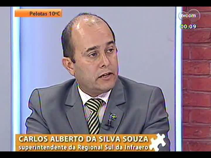 Mãos e Mentes - Superintendente regional da Infraero, Carlos Alberto da Silva Souza - Bloco 4 - 29/05/2013
