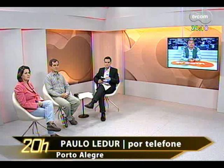 TVCOM 20 Horas - Análise dos protestos contra tarifa de ônibus, em Porto Alegre - Bloco 2 - 14/06/2013
