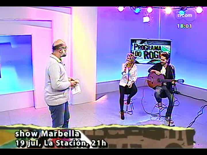 Programa do Roger - Um papo com integrantes da banda Marbella - bloco 2 - 18/07/2013