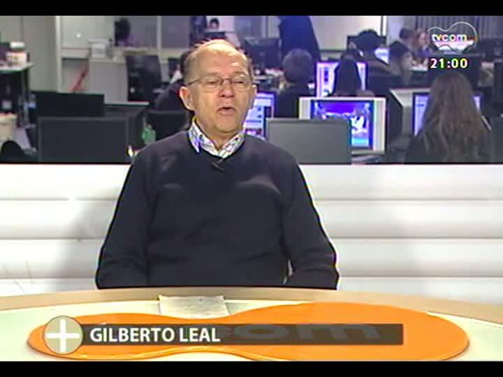 TVCOM Tudo Mais - Gilberto Leal comenta o Papamóvel