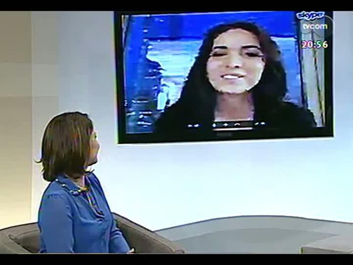TVCOM Tudo Mais - Candice Feio conta os problemas que enfrentou para achar um imóvel em Nova York
