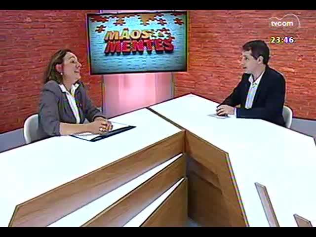 Mãos e Mentes - Agrônoma responsável pela vistoria de gramados para a Copa do Mundo, Maristela Kuhn - Bloco 2 - 18/09/2013