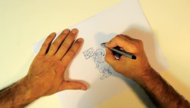Iotti desenha a sua vida