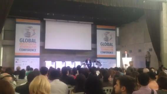 8º Congresso Internacional de Jornalismo Investigativo é realizado no Rio de Janeiro. 13/10/2013