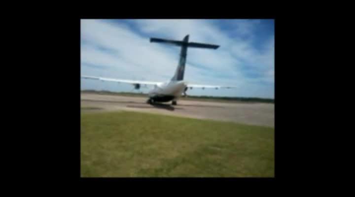 O primeiro voo da Azul Santa Maria-Porto Alegre