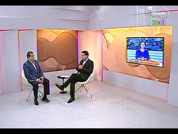 TVCOM 20 Horas - Presidente nacional do PDT fala sobre a possibilidade de candidatura pópria ao Palácio Piratini - Bloco 1 - 19/11/2013