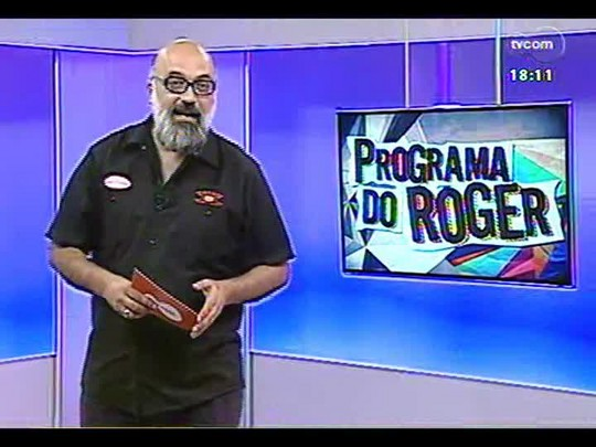 Programa do Roger - Ex Beatles Paul McCartney e Ringo Starr se apresentam juntos - Bloco 3 - 15/01/2014