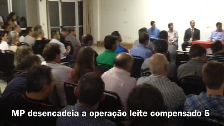 Leite Compensado 5: Proprietários de indústrias são presos por adulteração no Vale do Taquari. 08/05/2014