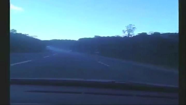 Imagens do acidente na BR-376