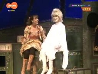 #PortoA - Cláudia Abreu vem a POA com a peça 'Pluft! O Fantasminha'