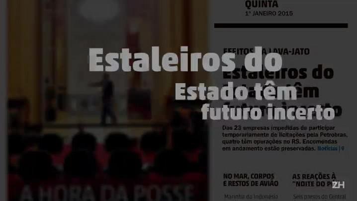 Crise na Petrobras atinge polo naval de Rio Grande