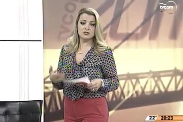 TVCOM 20 Horas - Foram encontrados indícios de um sambaqui no local da obra do Elevado do Rio Tavares - 06.05.15