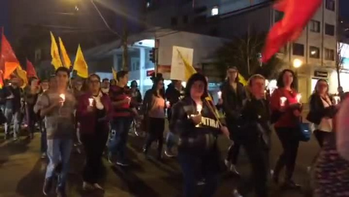 Veja como foi o protesto em Caxias do Sul