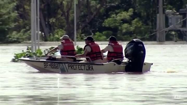 Chuvas deixam 170 mil desabrigados no Brasil e vizinhos
