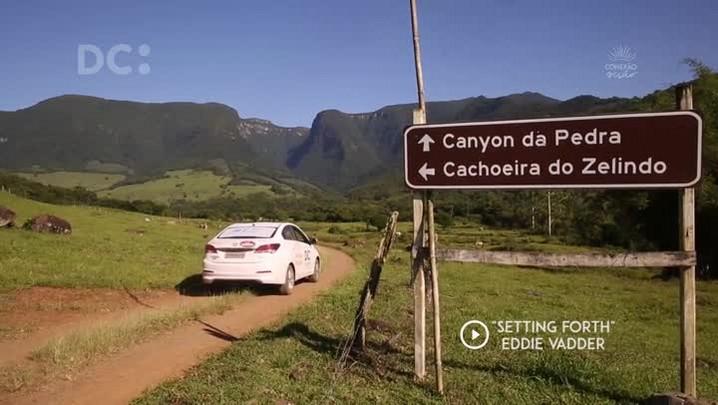 #DCpelaspraias: conheça a cachoeira do Cânion da Pedra