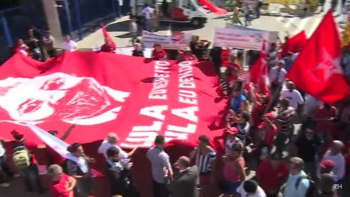 Briga por Lula termina com feridos