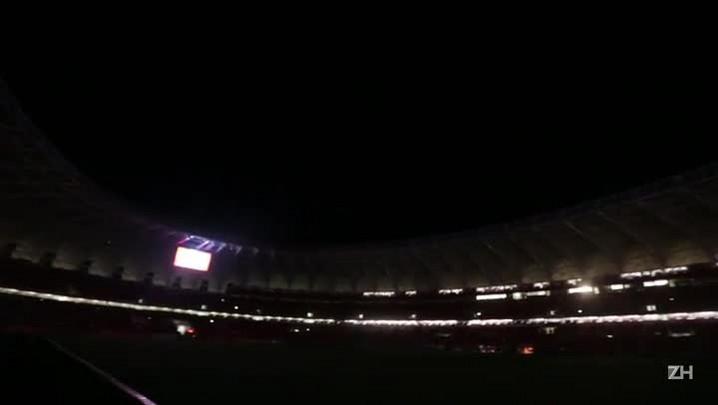 Beira-Rio sofre com apagões durante o jogo entre Inter e Veranópolis