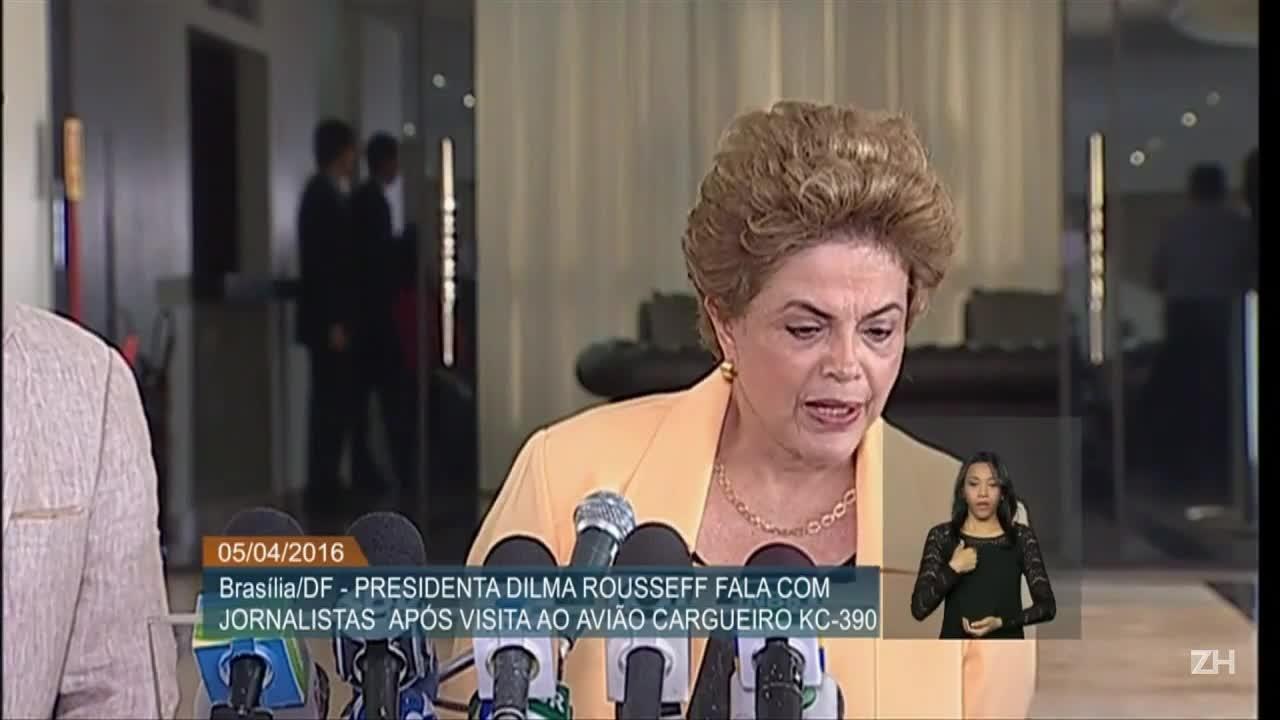 Dilma diz que não fará reforma ministerial agora