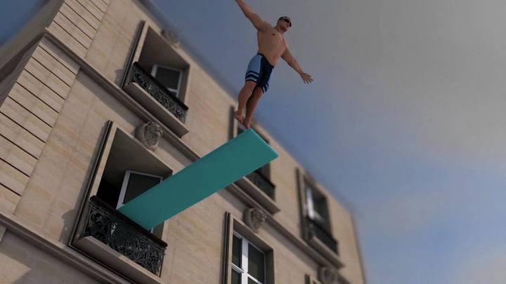 Recordes olímpicos comparados com a vida real