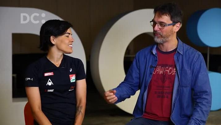 DC Esportes: Marcos Castiel conversa com Ana Lídia Borba, triatleta que sofreu um acidente na SC-401