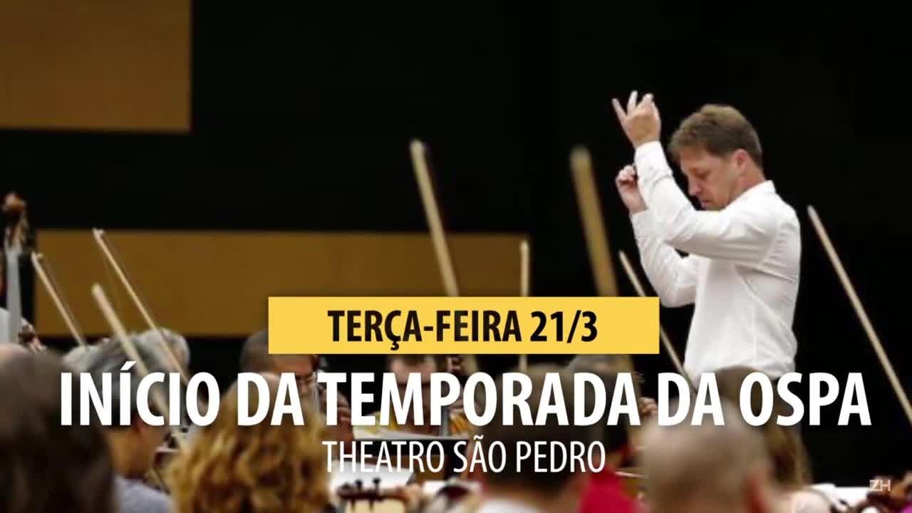 Confira os shows da semana em Porto Alegre