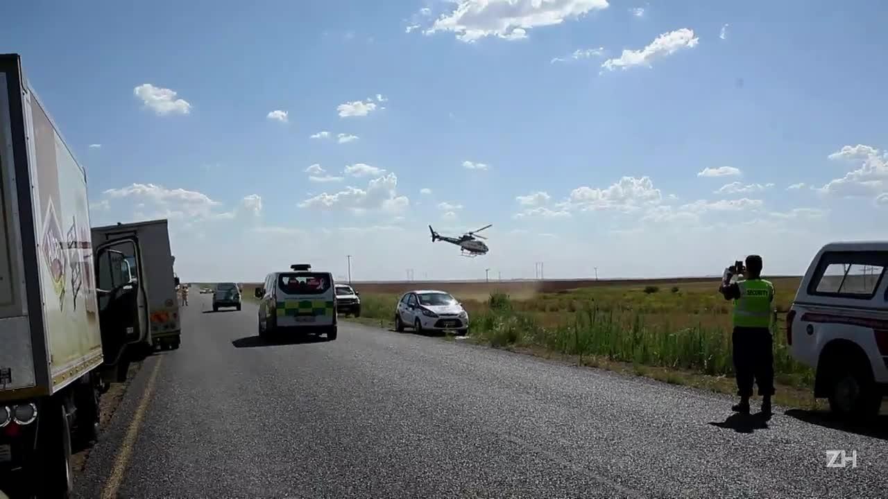 Acidente de trem deixa 14 mortos e 180 feridos na África do Sul