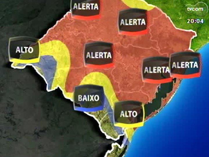 TVCOM 20 Horas - 20/12/12 - Bloco 1 - Temporal na capital e no interior e a projeção para o verão