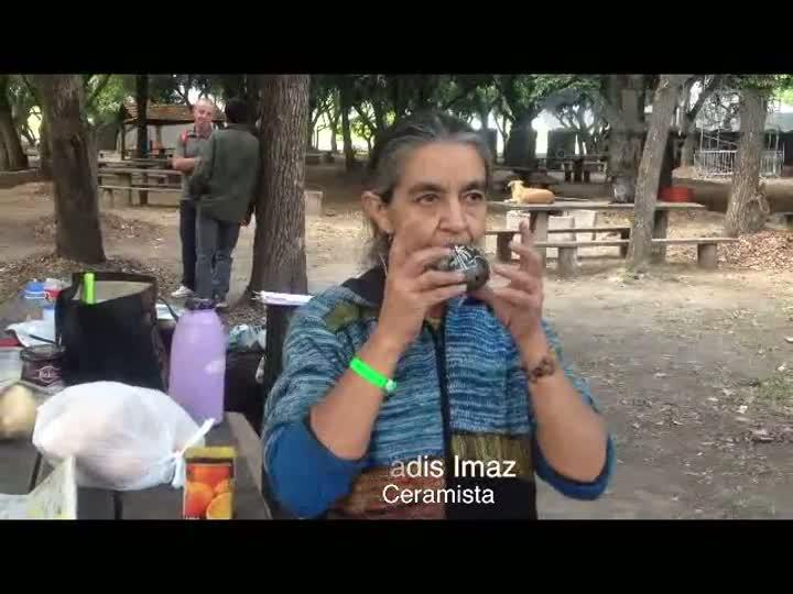 Participantes do Fórum Social Temático começam a acampar no Parque da Harmonia. 26/01/2013