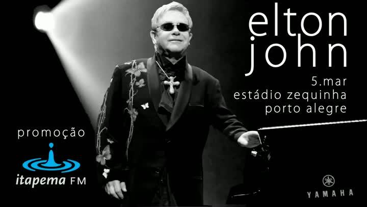 O show de Elton John por Beto Xavier