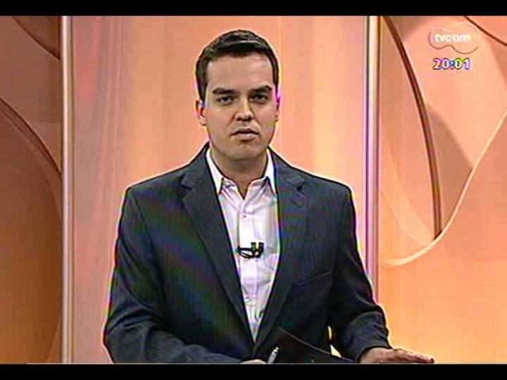 TVCOM 20 Horas - Arcebispo metropolitano Dom Dadeus comenta a renúncia de Bento XVI - Bloco 1 - 11/02/2013