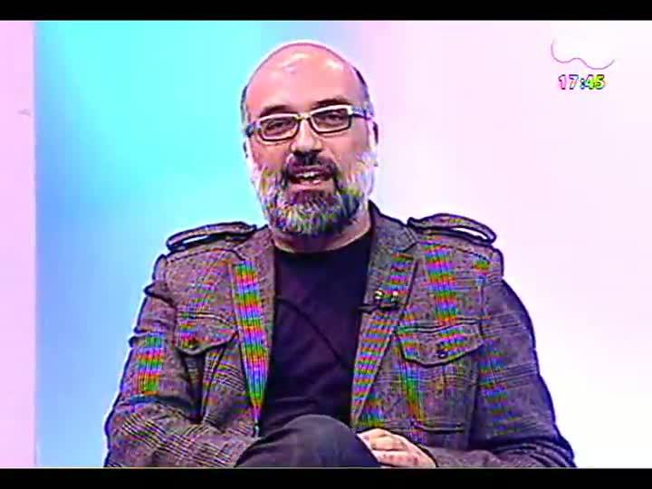 Programa do Roger - Diretora e produtor falam sobre peça Aldebaran - bloco 1 - 08/05/2013