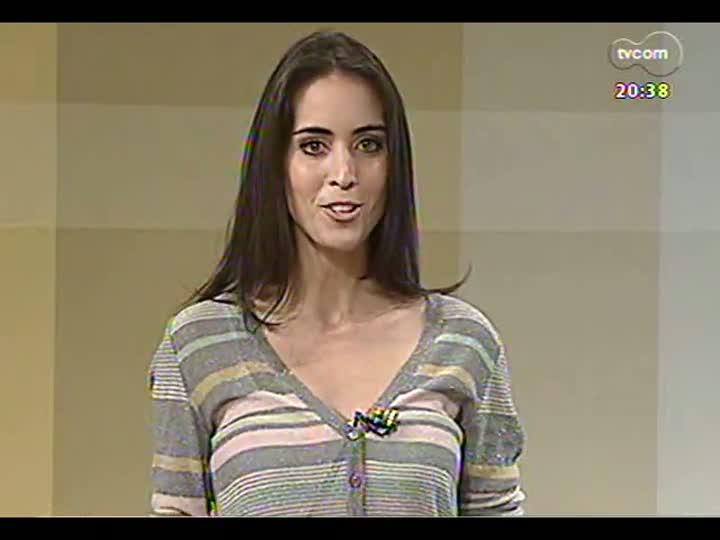 TVCOM Tudo Mais - A jornalista Mariana Kalil, acompanhada do cachorro Bento, fala sobre seu novo projeto