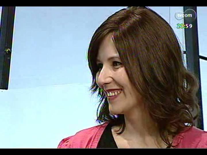 TVCOM Tudo Mais - Conheça a blogueira Flávia Maoli que foi diagnosticada com câncer e lida com isso sem dramas e com humor