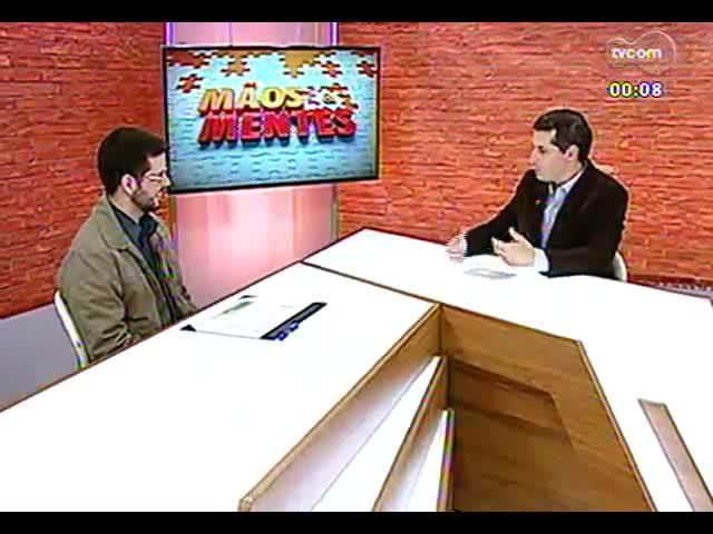 Mãos e Mentes - Veterinário e vice-presidente da Associação dos Fiscais Estaduais Agropecuários, Antônio Augusto Medeiros - Bloco 4 - 01/10/2013