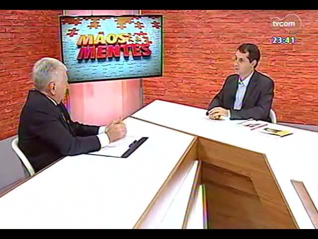 Mãos e Mentes - Geraldo Castelli, economista e diretor da Escola de Hotelaria Castelli - Bloco 2 - 04/10/2013