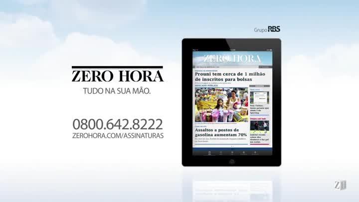 Leia na edição desta terça-feira em Zero Hora (22/10/2013)
