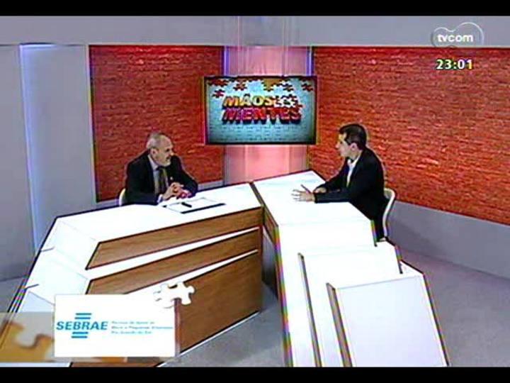 Mãos e Mentes - Diretor-presidente da ETPC, Vanderlei Cappellari - Bloco 1 - 15/12/2013