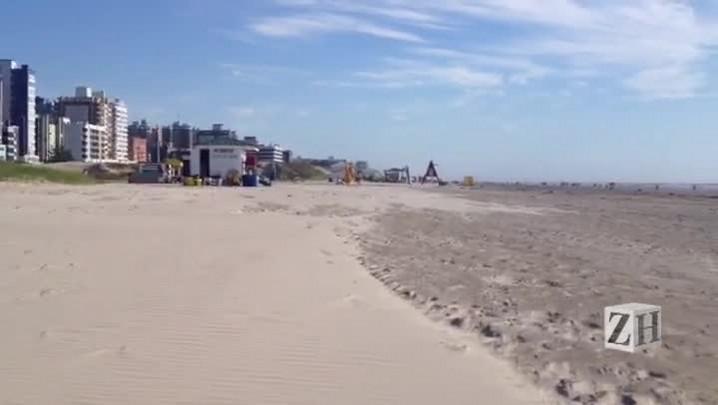 Terça-feira começa ensolarada e com nordestão nas praias gaúchas