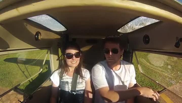 Piloto morto em acidente no RS pediu namorada em casamento em dezembro