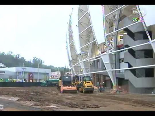 TVCOM 20 Horas - Como será a campanha de arrecadação lançada pelo Inter para a pavimentação em torno do estádio - Bloco 3 - 18/03/2014