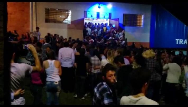 Cerca de duas mil pessoas são obrigadas a abandonar festa junina em Nova Pádua após princípio de incêndio